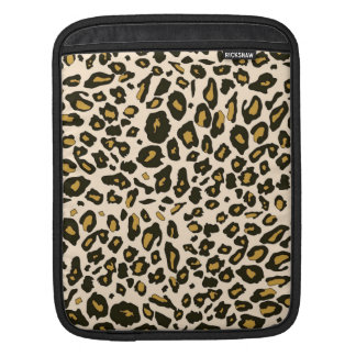 Leopard print pattern sleeves for iPads