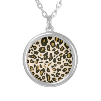 Leopard print pattern pendants