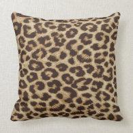 Leopard Print Pillow