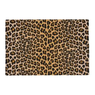 Leopard Print Placemat at Zazzle