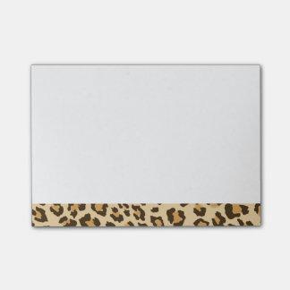 Leopard Print Post-it Notes