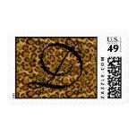 Leopard Print Postage