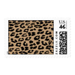 Leopard Print Postage Stamps