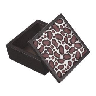 Leopard Print Premium Jewelry/Trinket Box Premium Keepsake Box