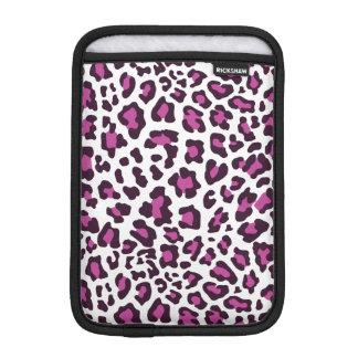 Leopard Print Purple iPad Mini Sleeves
