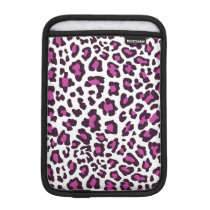 Leopard Print Purple Sleeve For iPad Mini