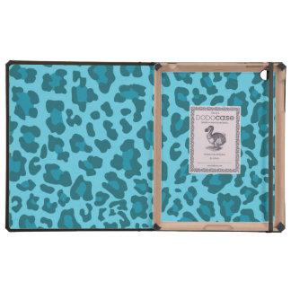 Leopard Print Shades of Blue