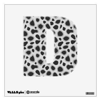 Leopard Print - Shades of Grey Room Decal