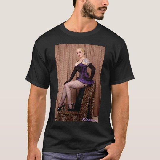Leopard Print Shoe Pin-up MsGenevieve.com T-Shirt