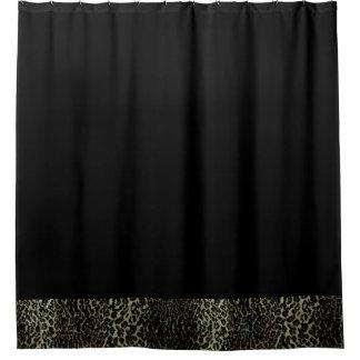 leopard print shower curtains zazzle