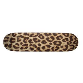 Leopard Print Skate Board Deck