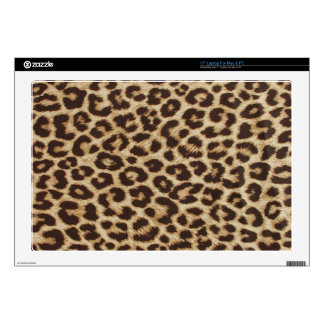 "Leopard Print Skin Decals For 17"" Laptops"
