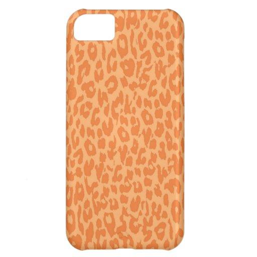 Leopard Print Skin Fur iPhone 5C Cover