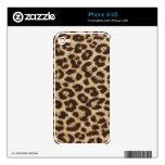 Leopard Print Skin iPhone 4 Skin