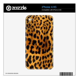Leopard Print Skins For The iPhone 4