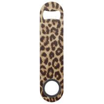Leopard Print Speed Bottle Opener