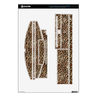 leopard print  Vinyl Skins Skin For The PS3 Console