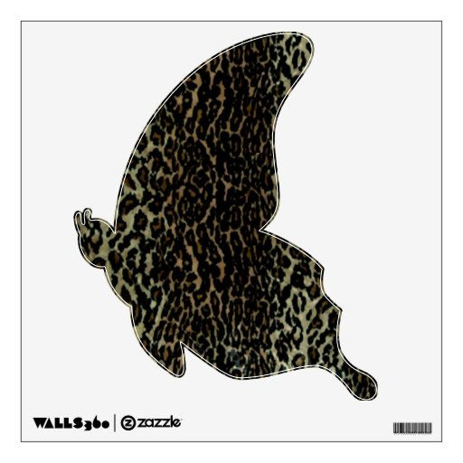 Leopard Print Wall Decal 2