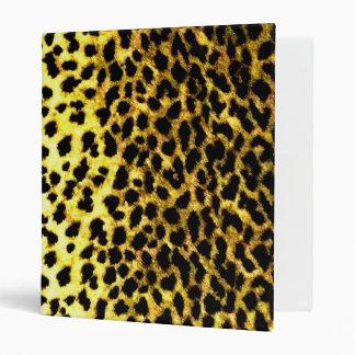 Leopard Print Wallpaper Binders