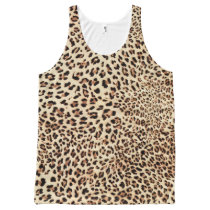 leopard print wild cool All-Over-Print tank top