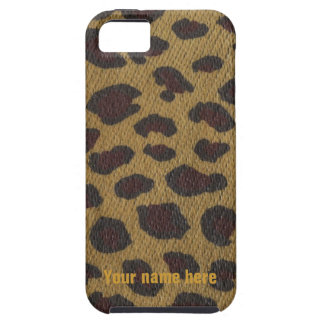 Leopard Print Wildlife Charity iPhone SE/5/5s Case