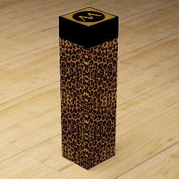Leopard Print Wine Box