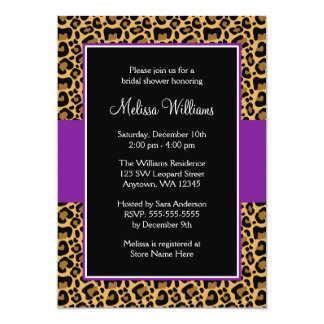 purple bridal shower invitations  announcements  zazzle, Bridal shower invitations