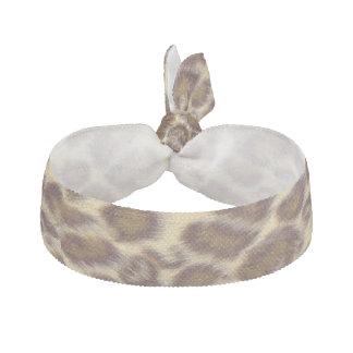 Leopard Ribbon Hair Tie
