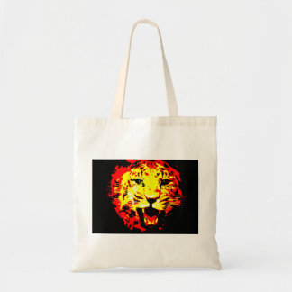 Leopard Roaring Tote Bag