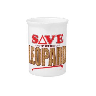 Leopard Save Drink Pitcher