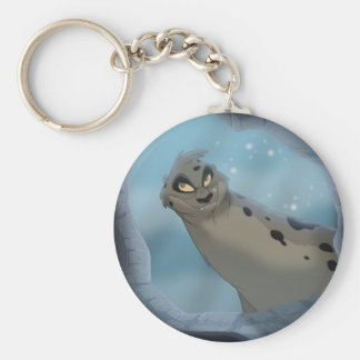 Leopard Seal Hunting Keychain
