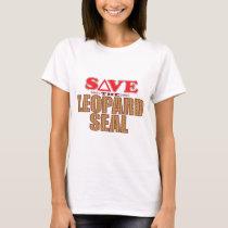 Leopard Seal Save T-Shirt