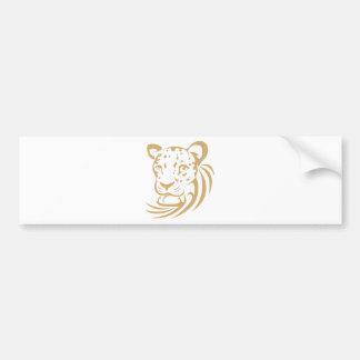 Leopard Shirts | Cool Custom Leopard Shirts Bumper Sticker