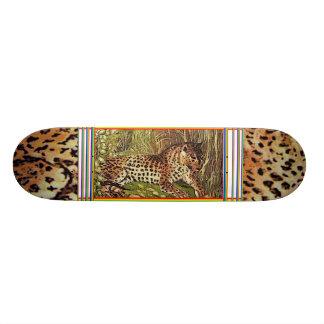 leopard sk.1 skateboard deck