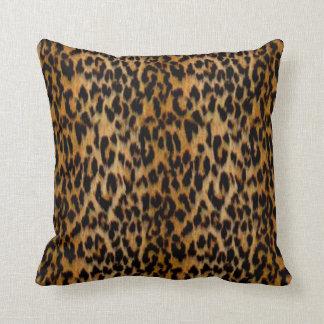 Leopard Skin Animal Print Throw Pillow