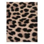 Leopard Skin background Customized Letterhead