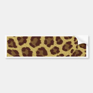 Leopard Skin Bumper Sticker