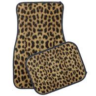 Leopard Skin Car Mats