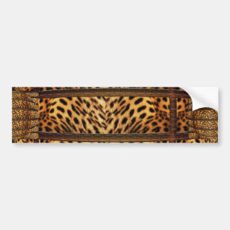 Leopard skin couch bumper stickers