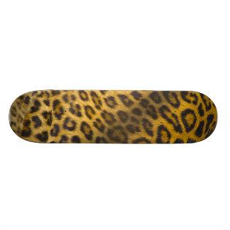Leopard skin design custom skateboard