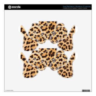 leopard skin Design Print PS3 Controller Skin