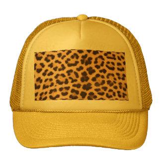 leopard skin Design Print Trucker Hat