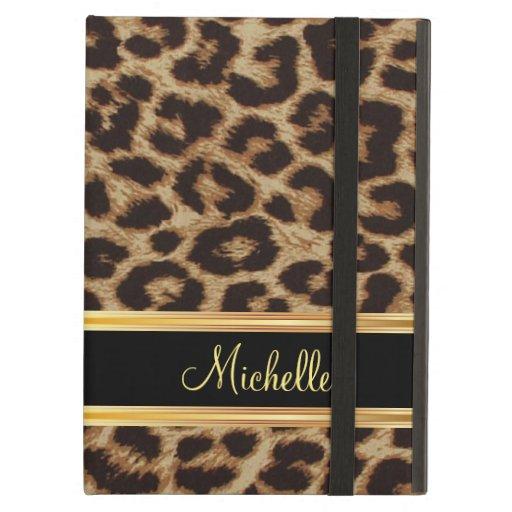 Leopard Skin Girly Pattern iPad Covers