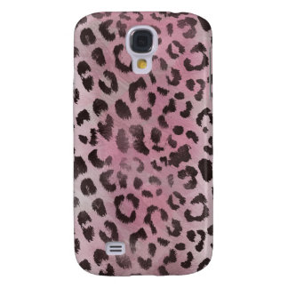 Leopard Skin in Pink Rose Samsung Galaxy S4 Case