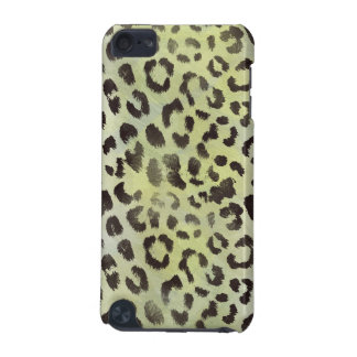 Leopard Skin in Tangerine Lime Green iPod Touch (5th Generation) Case