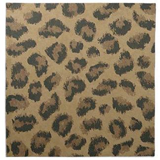 Leopard Skin Napkins