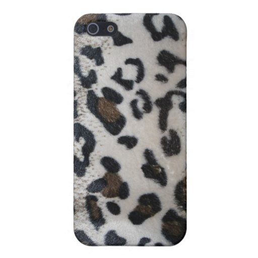 Leopard skin pattern cover for iPhone 5