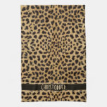 Leopard Skin Pattern Kitchen Towels