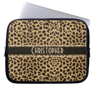 Leopard Skin Pattern Laptop Computer Sleeves
