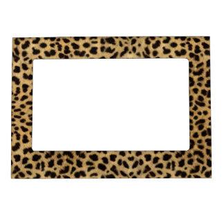 Leopard Skin Pattern Magnetic Photo Frames